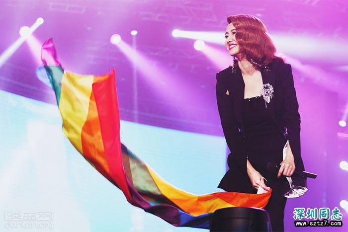 蔡依林:支持LGBTQ,是跟随我心