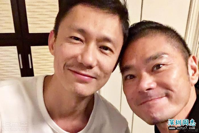 香港时装设计师邓达智与同性伴侣订婚