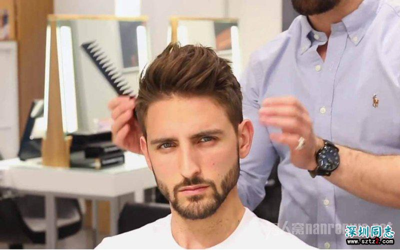 一位发型师的男式发型作品 看完你也会想让他给你剪头