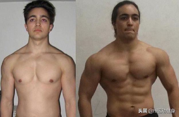 从微胖小伙子变成帅气肌肉男,健身中力量训练和科学计划很重要