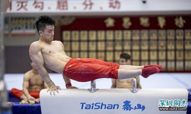 94年体操小将纪练深凭借颜值腱子肉走红,最新比赛硬照一览