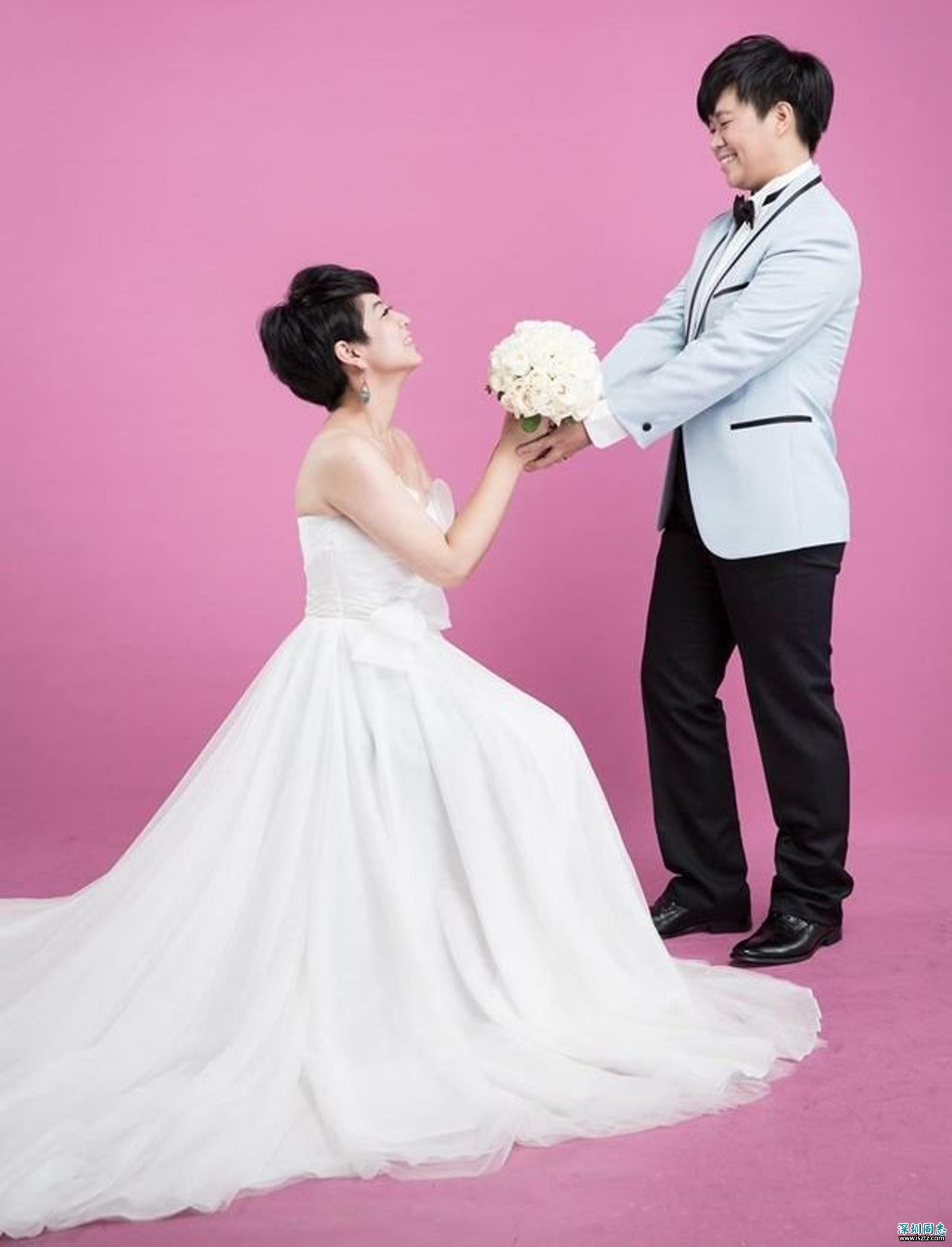 二人的婚姻雖然還不被法律承認,但在街上大排筵席,是另一種方式告訴大家,同志亦想有婚姻生活。(呂欣潔面書)